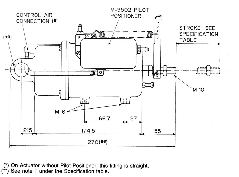 Johnson Controls D-4300 - Dimensions