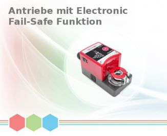 Antriebe mit Electronic Fail-Safe Funktion